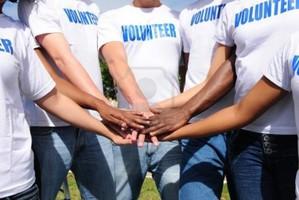 Voluntarios en las ONG